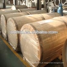 Bobinas de alumínio 8011 Ho / H14 / H16 / H24 para corpo de lata / tampa de lata