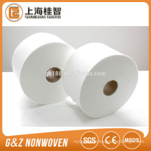 Grandes quantidades não tecidas impermeáveis de 100% Polyester Spunlace da fonte