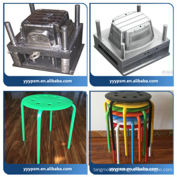 Plastic injection furniture mould for office chair components