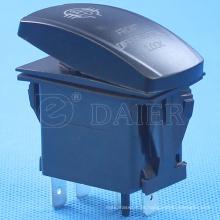 4 Pins12V / 24V NO Lens Interruptor de luz à prova d'água