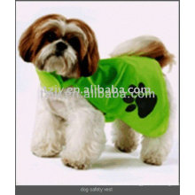 mascotas de transferencia de calor de alta visibilidad reflectante de seguridad chaleco