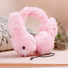 Foldable Rabbit headphones Best Gift for Girls Kids
