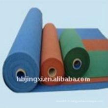 Rouleau de feuille en caoutchouc imperméable anti-vieillissement coloré d'EPDM