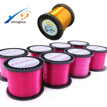 MLN104 quality knot strength tensile ice monofilament fishing line