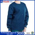 Vêtements de travail pour hôpitaux personnalisés Vêtements de travail Warm up Snap Front Scrub Jacket (YHS114)