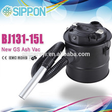 Bin Ash vacuum cleaner BJ131-15L for BBQ and fireplace with new GS