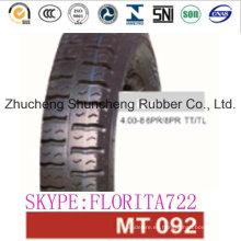 Neumáticos de la motocicleta (4.00-8) (90/90-17) (120/80-17) (110/90-17)