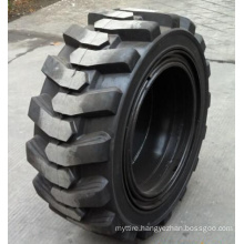 385/65-24 445/65-24, Skid Loader, Solid Tyres with Holes, Pneumatic Shaped Solid Tyre