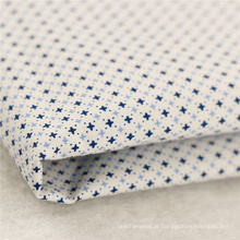 106gsm 50x50 100 camisetas de algodão tecido tecido de camisa de especificação simples