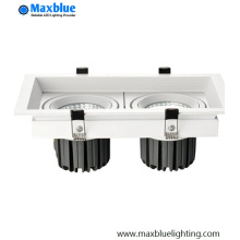 China Factory 40W CREE COB Square LED Grille Light