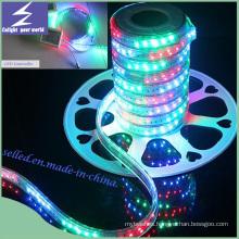 PVC Material IP65 110V 220V RGB Flexible LED Rope Light