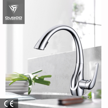 Chrome finished taps kitchen faucet pull out
