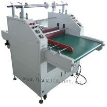 Machine de stratification de film de chauffage à convoyeur T
