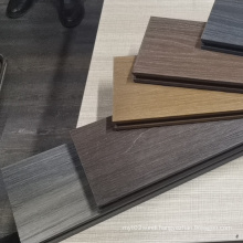 Co-extrusion plastic wood euro composite decking/WPC decking/new design
