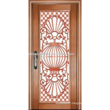 luxury copper door villa door exterior door single door KK-722