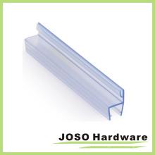 Puerta del baño de alta calidad de vidrio PVC Sg201