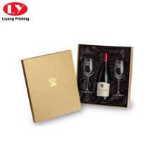 Luxus Weinglas Karton Geschenkbox
