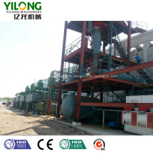 Équipement de recyclage de l'huile moteur noire