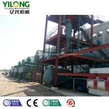 Equipamento de reciclagem de óleo de motor preto