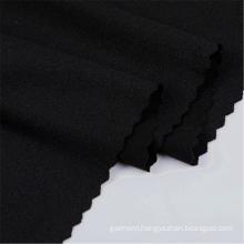 Black Polyester DTY Sport Wear Jersey Spandex Fabric