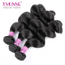 Wholesale Price Unprocessed Peruvian Loose Wave Virgin Hair