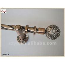 La barre de rideau en cuivre de conception la plus récente de 22mm