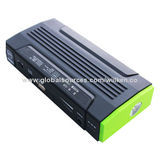 Multifunction Power Bank for Car Jump Starter, 22,000mAh, USB Output, Charge for iPad/iPhone/MobileNew