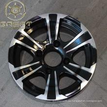 Nueva rueda 12x7 del atv de la aleación del diseño con 4 agujeros