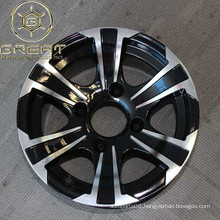 new design alloy atv wheel 12x7 with 4 holes