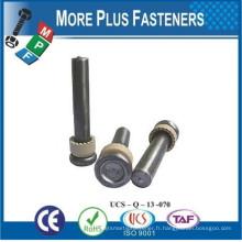 Fabriqué dans le connecteur de cisaillement et le fil de torsion à la tête ronde à Taiwan et les ferrilles en céramique