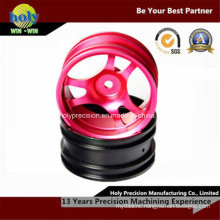 Aluminum CNC Machined Wheel for Toy Car