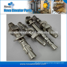 elevator expansion bolt M10 or M12