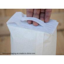 Цементный бумажный пакет с липкой ручкой PP