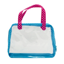 Clear Loop Handle PVC Bag for Cosmetic