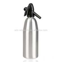 Herramientas de cocina promocionales Sifón de soda de aluminio modificado para requisitos particulares 1L
