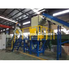 Máquina de trituración y lavado de plástico