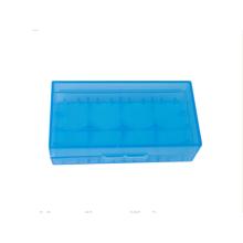 caja de batería de iones de litio de color azul 2 piezas