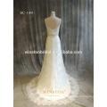 2016 China Dress Manufacturer white color wedding dress