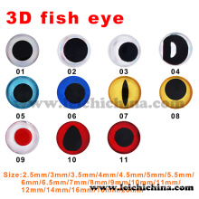 Top Quality Double Color 3D Fishing Lure Eyes