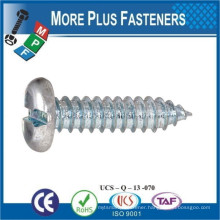 Made in Taiwan DIN 7971 Slotted Pan Cheese Head Self Tapping Screw Stainless Steel