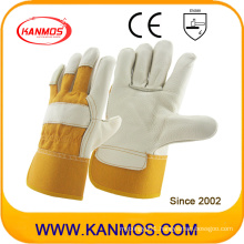 Furniture Leather Hand Protection Industrial Safety Work Gloves (310053)