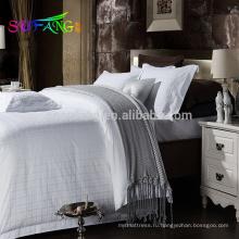 2018 отель постельное белье/роскошный 5-звездочный отель постельное белье/постельных принадлежностей