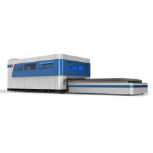 fiber metal pipe tube laser cutting machine