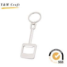 Abrebotellas y llavero diseñados de metal de la manera (K03034)