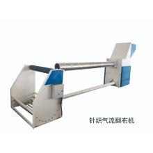 Machine de tournage à air inversé en tissu gris tubulaire textile