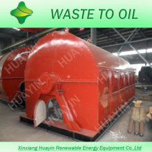30 ton waste tire/plastic oil to diesel machine with high oil yield