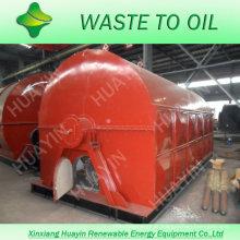Pneu waste de 30 toneladas / óleo plástico à máquina diesel com rendimento alto do óleo