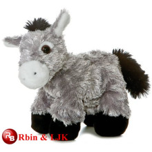 Meet EN71 and ASTM standard ICTI plush toy factory stuffed donkey