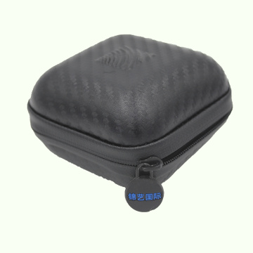 Custodia per auricolare bluetooth in mini PU impermeabile e facile da trasportare