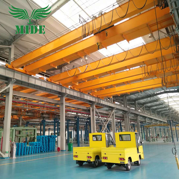 QD 16 ton double beam bridge crane